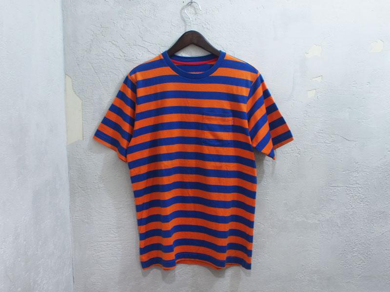 supreme striped pocket tee