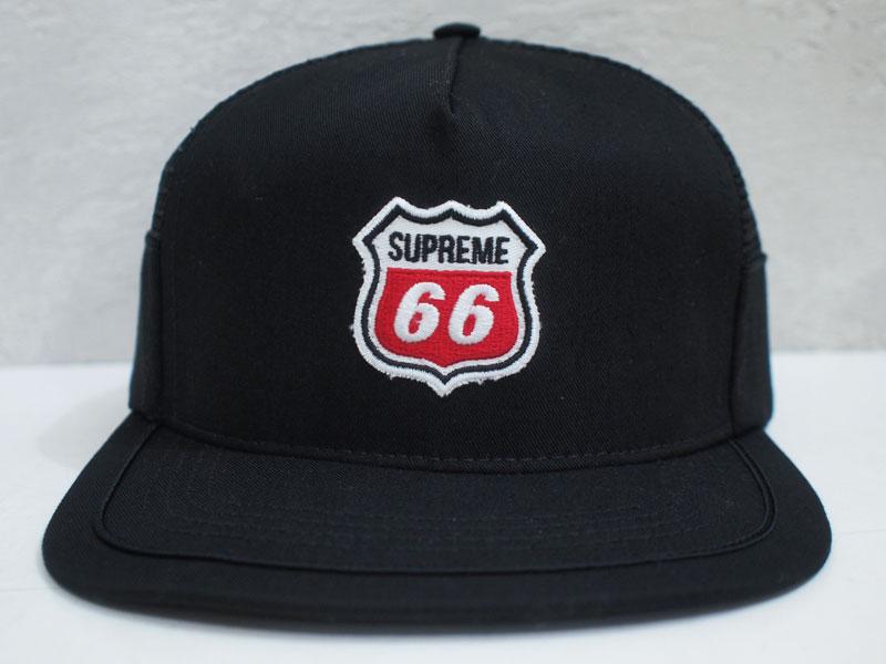 9515136286f Supreme  66 5 Panel Cap キャップ サイドメッシュ ブラック 黒 シュプリーム - ブランド古着の買取販売フォーサイト  オンラインストア