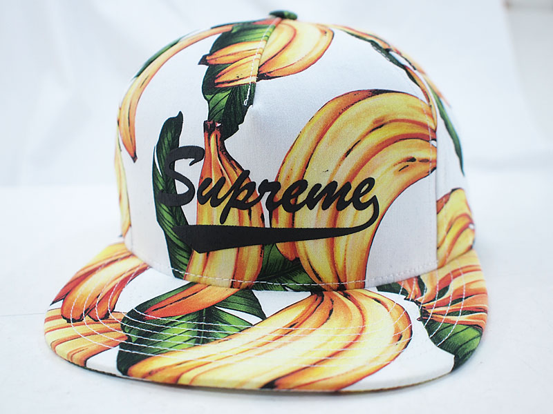 Supreme  Banana 5 Panel Cap キャップ バナナ 白 ホワイト シュプリーム ... 2b240d8379a